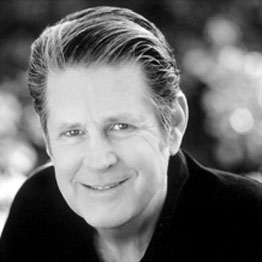 Brian Wilson: hair made out of treacle it would appear.