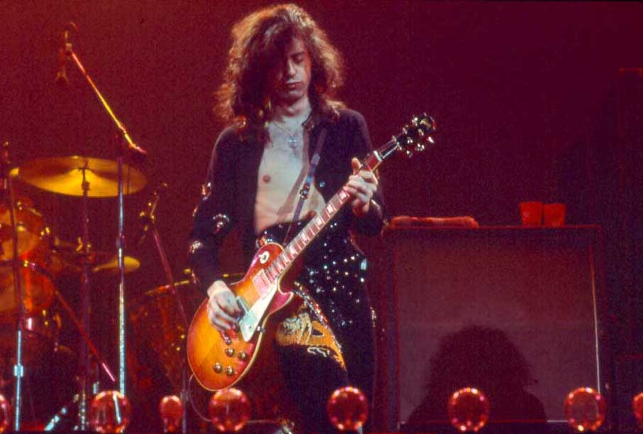 Jimmy page guitarist.